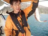 小豆島へ釣りに行ってきました。
